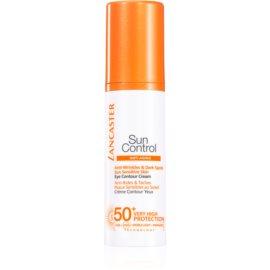 Lancaster Sun Control сонцезахисний крем для шкіри навколо очей SPF 50+  15 мл