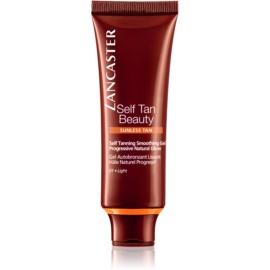 Lancaster Self Tan Beauty gel autobronceador con efecto alisador para el rostro 01 Light  50 ml