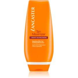Lancaster Tan Maximizer crema lenitiva idratante per prolungare l'abbronzatura  125 ml