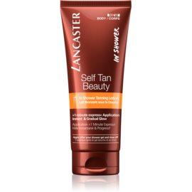 Lancaster Self Tan Beauty latte autoabbronzante corpo per doccia per un'abbronzatura graduale  200 ml