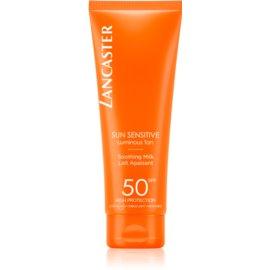 Lancaster Sun Sensitive mleczko do opalania do skóry wrażliwej SPF50  125 ml