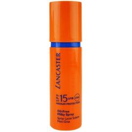Lancaster Oil Free Spray Zonnebrandmelk in Spray  SPF 15  150 ml