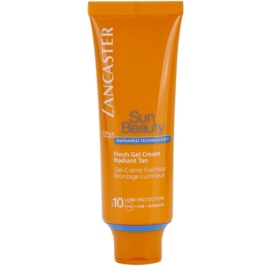 Lancaster Sun Beauty nawilżający żel-krem do opalania SPF 10  50 ml
