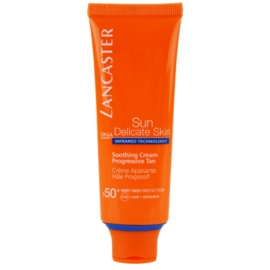 Lancaster Sun Delicate Skin crema de soare pentru fata SPF 50+  50 ml