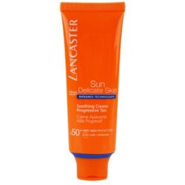 Lancaster Sun Delicate Skin opaľovací krém na tvár SPF 50+  50 ml