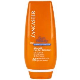 Lancaster Sun Beauty Leite solar cremoso SPF 15  125 ml