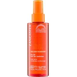 Lancaster Sun Beauty Droge Olie voor Bruinen in Spray  SPF 50  150 ml