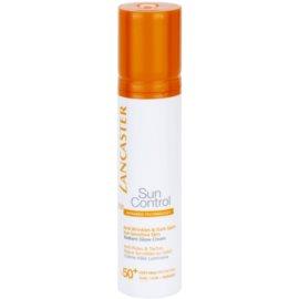 Lancaster Sun Control crema bronceadora antiarrugas con efecto iluminador  SPF 50+  50 ml
