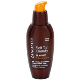 Lancaster Self Tan Beauty skoncentrowany samoopalacz do twarzy 02 Medium  30 ml