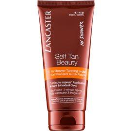 Lancaster Self Tan Beauty Selbstbräuner-Bodylotion für die Dusche für allmähliche Bräunung  200 ml