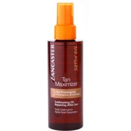 Lancaster Tan Maximizer suchy olejek regenerujący przedłużający opaleniznę do twarzy i ciała  150 ml
