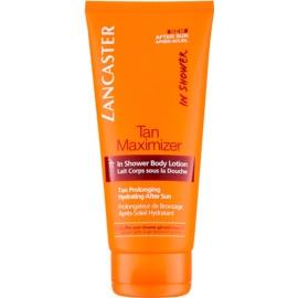 Lancaster Tan Maximizer leche corporal para la ducha after sun  200 ml