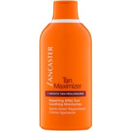 Lancaster Tan Maximizer Kalmerende Hydraterende Crème voor Langereaanhouding van Bruining  voor Gezicht en Lichaam   400 ml