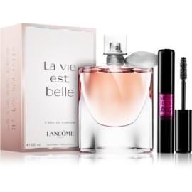 Lancôme La Vie Est Belle darilni set – ugodno pakiranje  parfumska voda 100 ml + maskara 10 ml