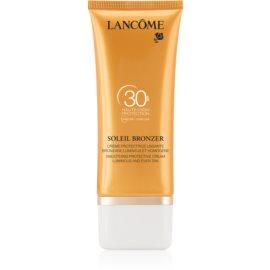 Lancôme Soleil Bronzer Face Sun Cream  SPF30  50 ml
