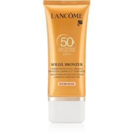 Lancôme Soleil Bronzer krem do opalania do twarzy SPF50  50 ml