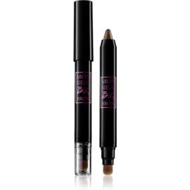 Lancôme Monsieur Big  Brow creion pentru sprancene cu pensula culoare 02 Chesnut 1,5 g