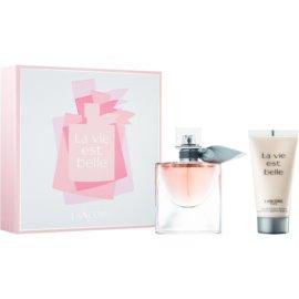 Lancôme La Vie Est Belle darilni set  parfumska voda 30 ml + losjon za telo 50 ml