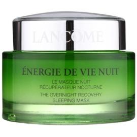Lancôme Énergie De Vie erneuernde Maske für die Nacht für müde Haut  75 ml
