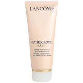 Lancôme Nutrix Royal regeneráló és hidratáló krém kézre  100 ml