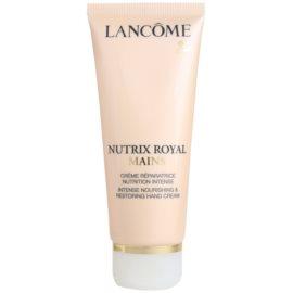 Lancôme Nutrix Royal regenerierende und hydratisierende Creme für die Hände  100 ml