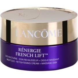 Lancôme Rénergie French Lift krem na noc z dyskiem do masażu  50 ml