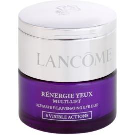 Lancôme Renergie Multi-Lift hranilna krema proti gubam za predel okoli oči s korektorjem odtenek 2 Medium (Double Soin-6 Actions Visibles) 15 + 4 ml