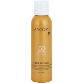 Lancôme Soleil Bronzer молочко для засмаги у формі спрею SPF 50  200 мл