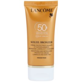 Lancôme Soleil Bronzer opalovací krém proti stárnutí pleti SPF 50  50 ml