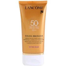 Lancôme Soleil Bronzer Face Sun Cream  SPF 50  50 ml