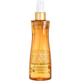 Lancôme Soleil Bronzer óleo protetor SPF 15  200 ml