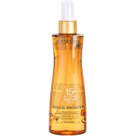 Lancôme Soleil Bronzer schützendes Öl LSF 15  200 ml