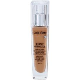 Lancôme Teint Miracle хидратиращ фон дьо тен за всички типове кожа на лицето цвят 045 Sable Beige SPF 15  30 мл.