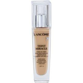 Lancôme Teint Miracle хидратиращ фон дьо тен за всички типове кожа на лицето цвят 01 Beige Albatre SPF 15  30 мл.