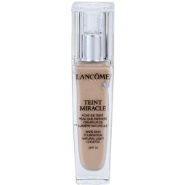 Lancôme Teint Miracle хидратиращ фон дьо тен за всички типове кожа на лицето цвят 010 Beige Porcelaine SPF 15  30 мл.