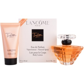 Lancôme Trésor Gift Set  III.  Eau de Parfum 50 ml + Body Lotion  50 ml