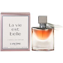 Lancôme La Vie Est Belle L'Absolu Eau de Parfum für Damen 20 ml