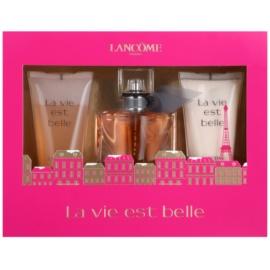 Lancôme La Vie Est Belle darilni set II. parfumska voda 30 ml + losjon za telo 50 ml + gel za prhanje 50 ml