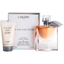 Lancôme La Vie Est Belle подарунковий набір III  Парфумована вода 50 ml + Молочко для тіла 50 ml