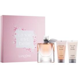 Lancôme La Vie Est Belle подарунковий набір ІХ  Парфумована вода 75 ml + Молочко для тіла 50 ml + Гель для душу 50 ml