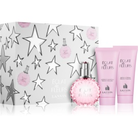 Lanvin Eclat De Fleurs coffret cadeau II. eau de parfum 100 ml + crème corporelle 100 ml + gel de douche 100 ml