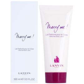Lanvin Marry Me! telové mlieko pre ženy 100 ml