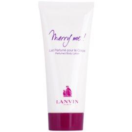 Lanvin Marry Me! tělové mléko pro ženy 100 ml
