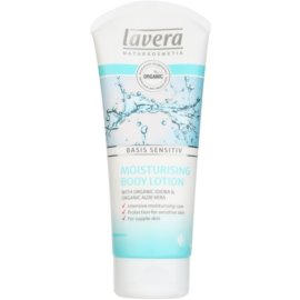 Lavera Basis Sensitiv tělové mléko pro citlivou pokožku  200 ml