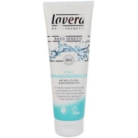 Lavera Basis Sensitiv oczyszczające mleczko do twarzy  125 ml