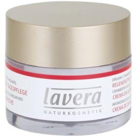 Lavera Faces Bio Cranberry and Argan Oil creme de dia regenerador 45+  50 ml