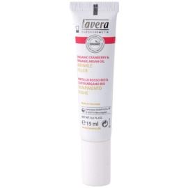 Lavera Faces Bio Cranberry and Argan Oil krema za polnjenje gub za okoli oči in ustnic  15 ml