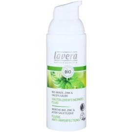 Lavera Faces Bio Mint Moisturizing Fluid For Oily Skin  50 ml