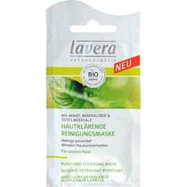 Lavera Faces Bio Mint Deep Cleansing Mask For Oily Skin  10 ml
