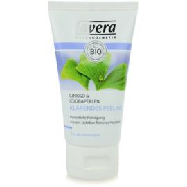 Lavera Faces Cleansing peeling oczyszczający  do wszystkich rodzajów skóry  50 ml